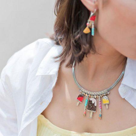 Collar original «helados» Taratata