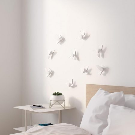 Colibrí blanco Umbra Wall decor