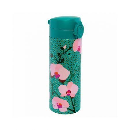 Termo con cierre de seguridad Pylones orquídea turquesa