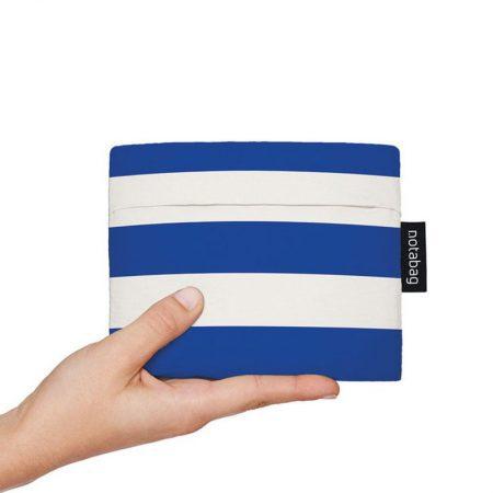Bolsa-mochila plegable Rayas Marineras pocket