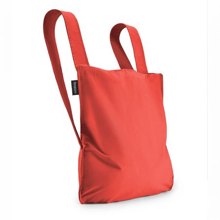 Bolsa-mochila plegable Roja