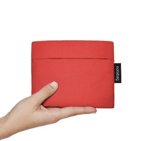 Bolsa-mochila plegable Roja pocket