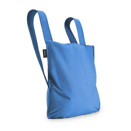 Bolsa-mochila plegable Azul