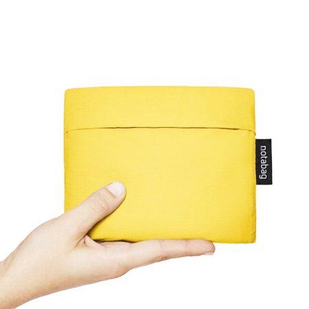 Bolsa-mochila plegable para niños Amarilla pocket