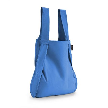 Bolsa-mochila plegable Azul original
