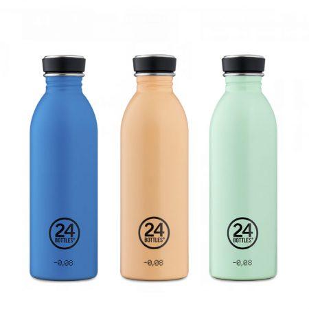 Botellas ultraligera 24 bottles de acero inoxidable