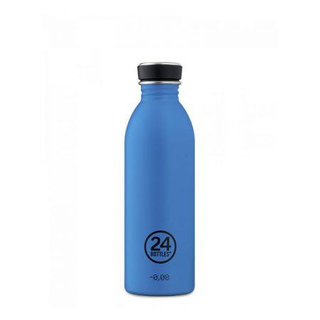 Botellas ultraligera 24 bottles de acero inoxidable azul