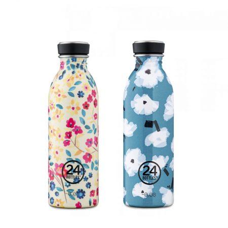 Botellas ultraligeras 24 bottles de acero inoxidable edición especial customizada