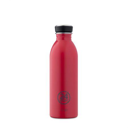 Botellas ultraligera 24 bottles de acero inoxidable rojo