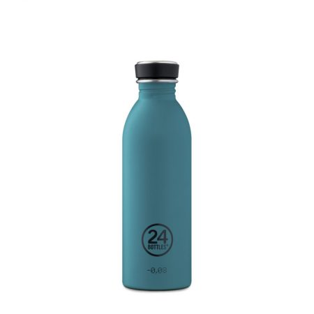 Botellas ultraligera 24 bottles de acero inoxidable verde turquesa
