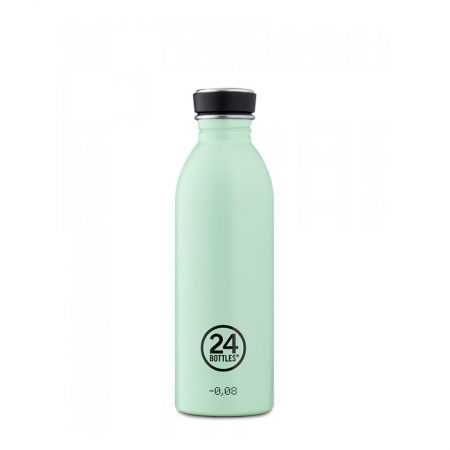 Botellas ultraligera 24 bottles de acero inoxidable verde pastel