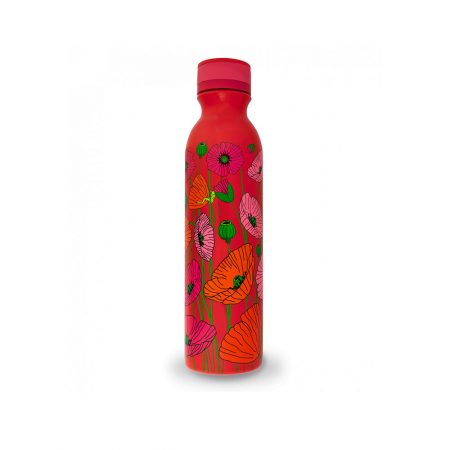 Botella termo keep cool 75cl de Pylones Amapolas