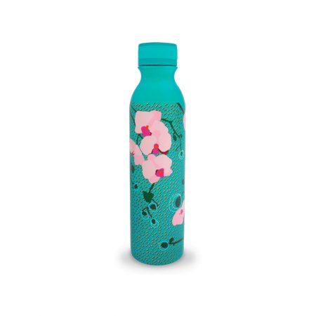 Botella termo keep cool 75cl de Pylones Orquidea turquesa