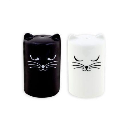 Salero y Pimentero de gato Pylones