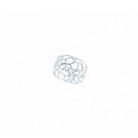 """anillo Orfega de la colección """"miel"""" en plata de 1a ley 925"""