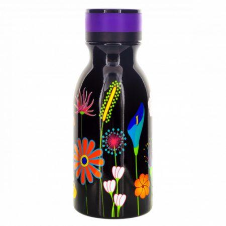 botella termo mini keep cool de 40 cl Jardín de flores Negro