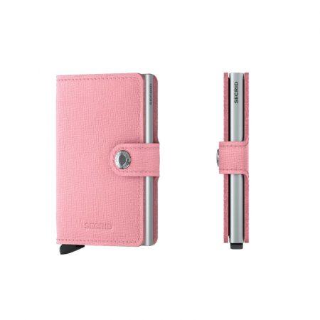 Cartera SECRID Miniwallet automatica anticopia CRISPLE rosa