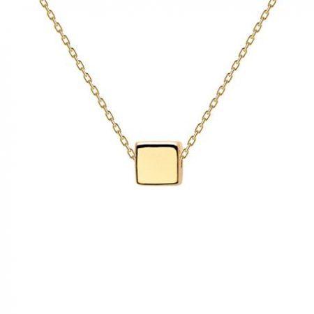 Collar Dice bañado en Oro 18k original P de Paola