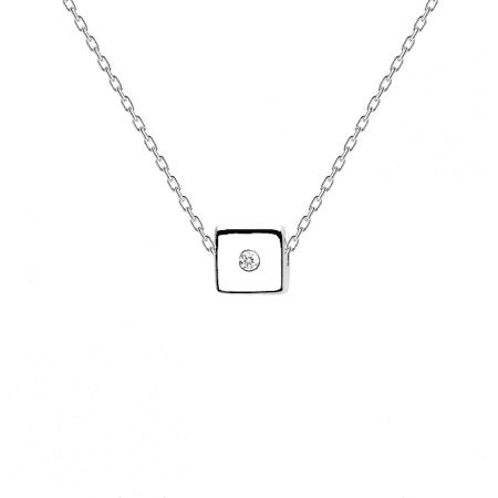 Collar Dice de Plata 925 P de Paola