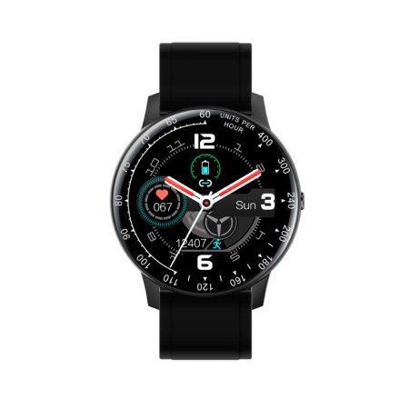 reloj smart watch times square radiant pulsera actividad negro