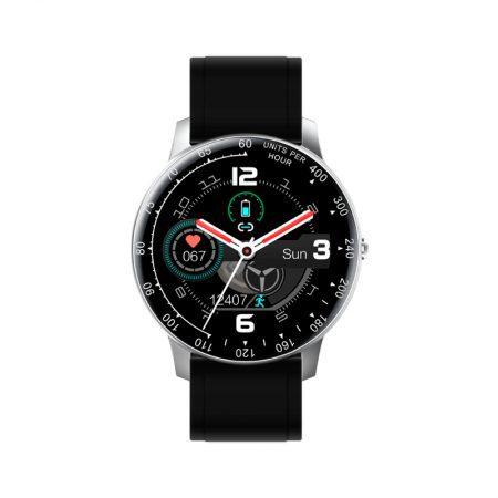 reloj smart watch times square radiant pulsera actividad plata