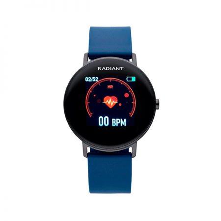 reloj smart watch wall street radiant pulsera actividad azul