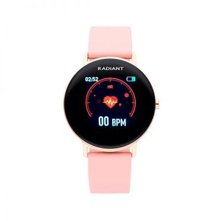 reloj smart watch wall street radiant pulsera actividad rosa