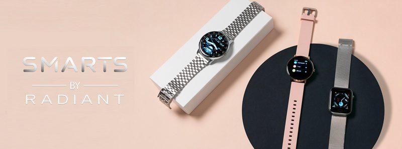 relojes smart de Radiant con pulsera actividad