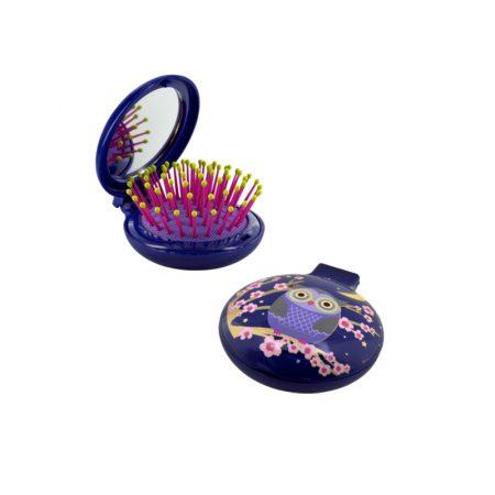 Cepillo con espejo Lady Retro Pylones Chica Buho