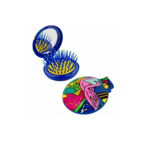 Cepillo con espejo Lady Retro Pylones Flamencos