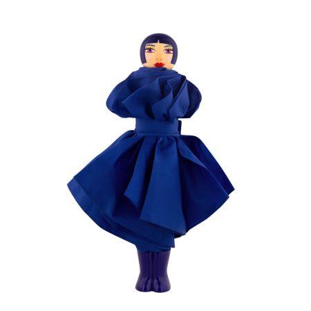 paraguas original chica Rain Parade azul marino Pylones