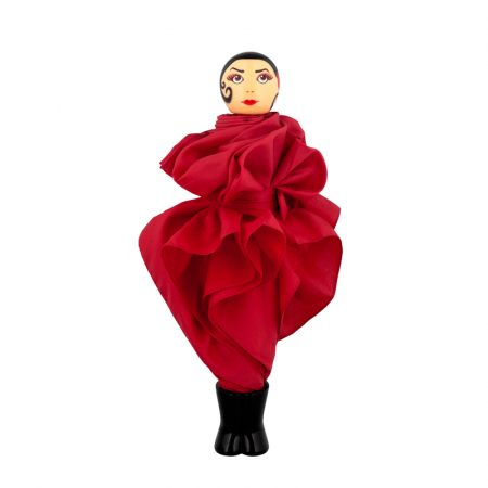 paraguas original chica Rain Parade rojo Pylones