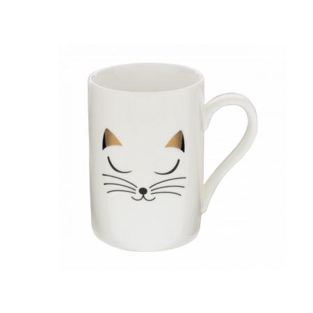 Taza mug Original estampados Pylones Gato Blanco