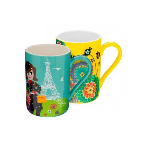 originales tazas tipo mug con estampados de Pylones