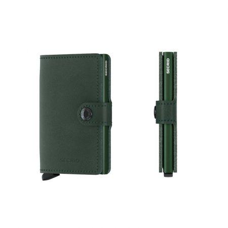 Cartera SECRID Miniwallet ORIGINAL automática anticopia Verde