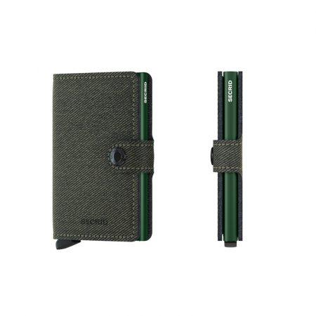 Cartera SECRID Miniwallet TWIST automática anticopia Verde