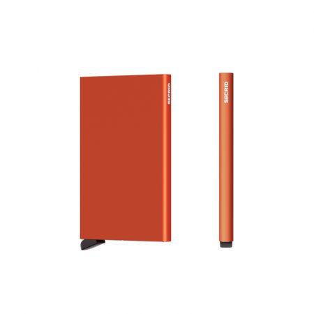 Tarjetero automático cardprotector Naranja SECRID