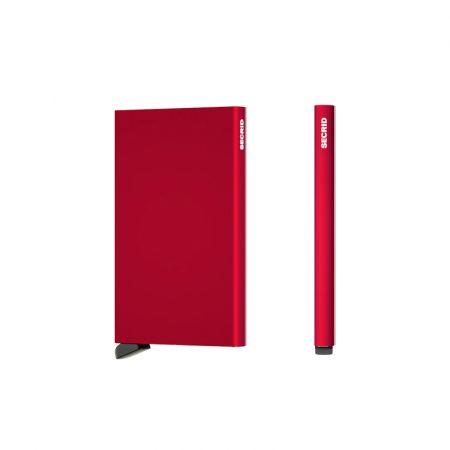 Tarjetero automático cardprotector Rojo SECRID