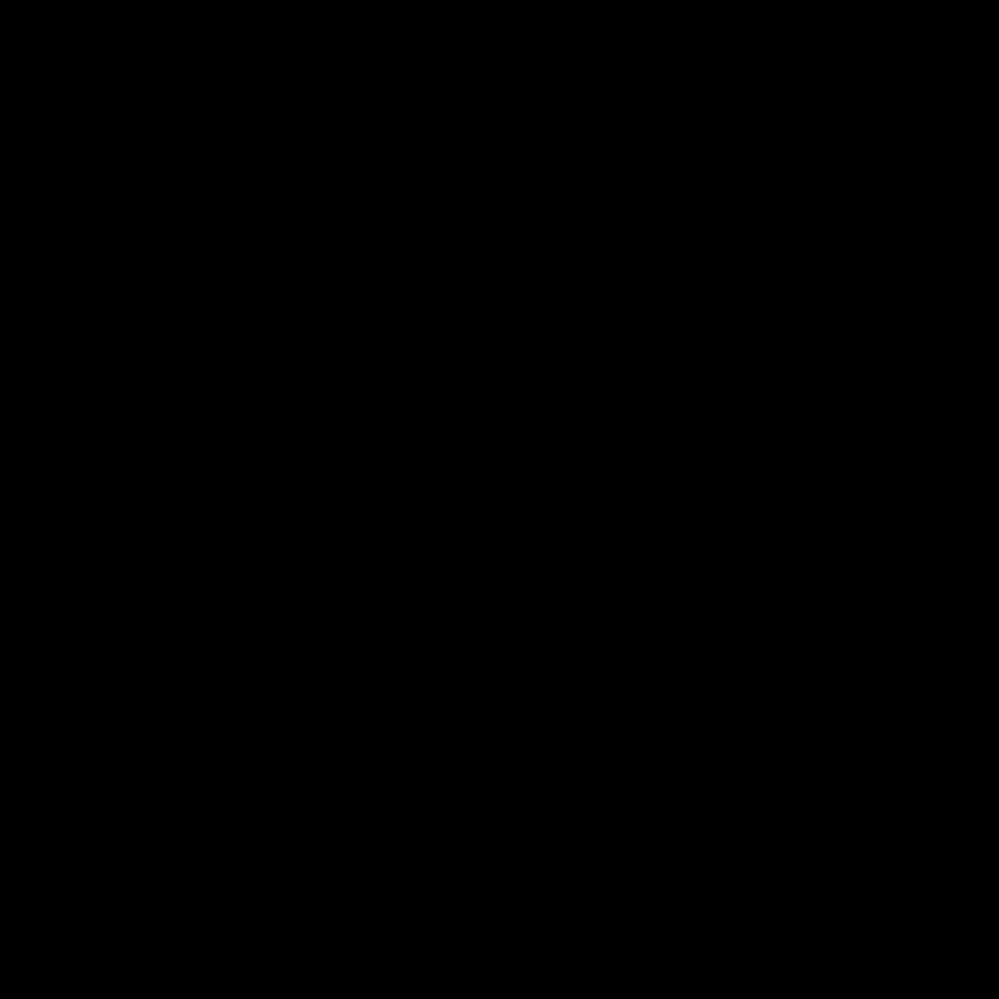 Pendientes letras P de Paola de plata bañados en oro